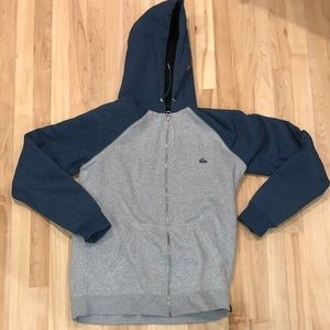 QuickSilver Zip-up Hoodie